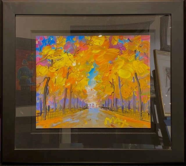 Peter Max, 'Four Seasons II: Autumn Central Park ', 2019 , Painting, Original mixed media on paper., Off The Wall Gallery