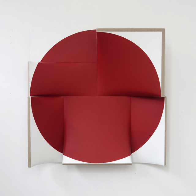, 'Improved Pointless Indian Red,' 2014, Peter Blake Gallery