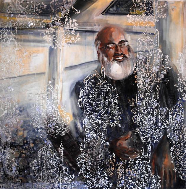 , 'Karan Grover,' 2010, Wide Painting