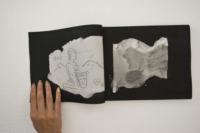 , 'Gedankengang (am Laufenden Meter),' 2014, Grimmuseum