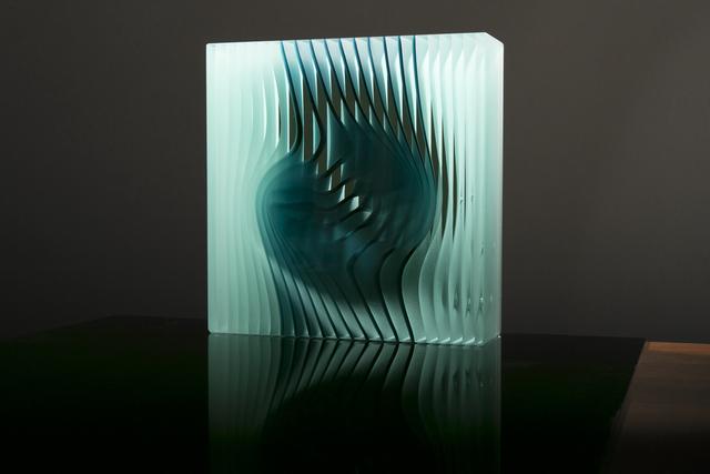 Peter Borkovics, 'Teal Cube', Avran Fine Art