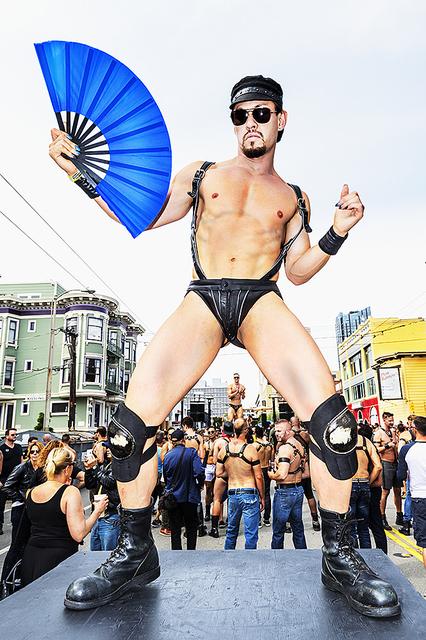 Mitchell Funk, 'Folsom Street Fair, BDSM Leather Event #36', 2015, Robert Funk Fine Art