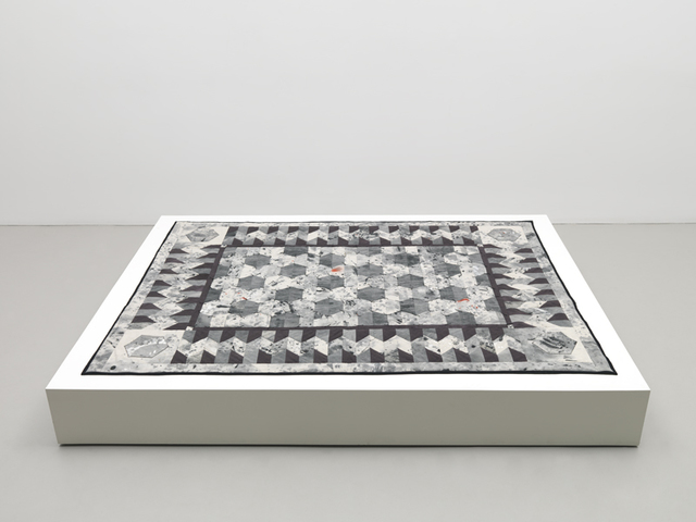 , 'DROPCLOTH QUILT #2,' 2011, Mitchell-Innes & Nash