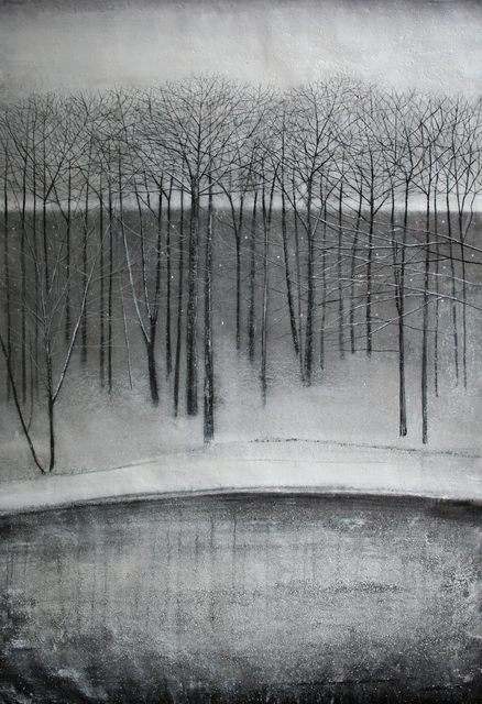 Thomas Lamb, 'Trees beside Lake in Winter', Browse & Darby