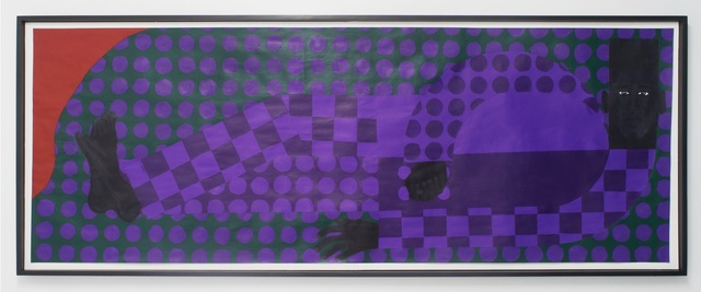 , 'Man In The Violet Dreamscape No. 3,' 2018, The Hole