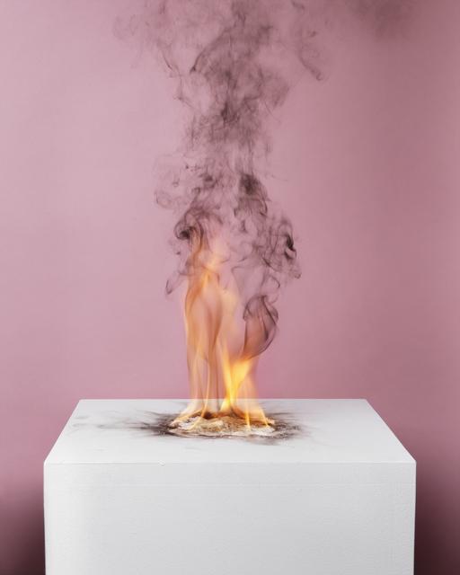 , 'Camphor Flame on Pedestal (0432),' 2010, Nature Morte