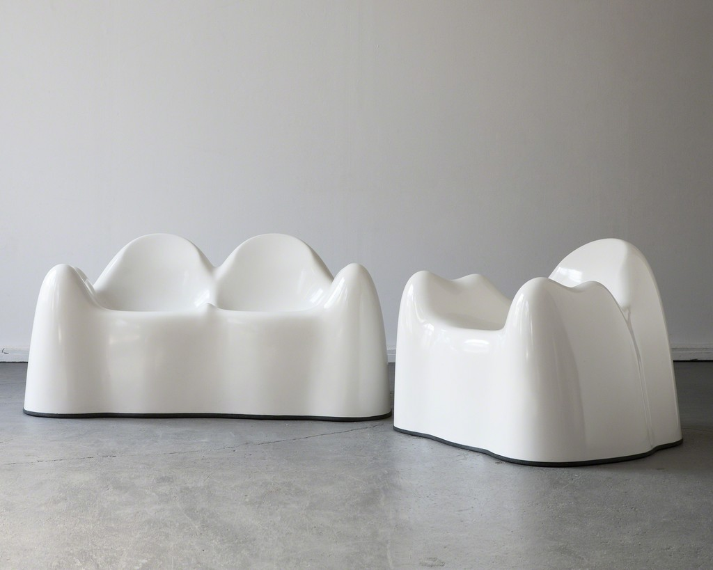 """Molar Group"" settee and lounge chair"