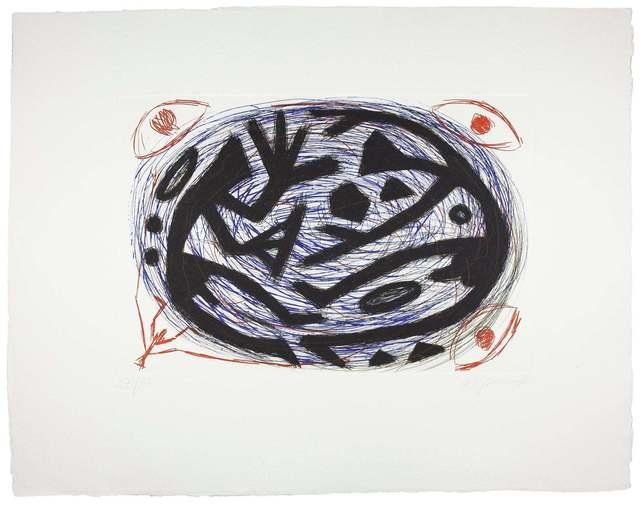 A.R. Penck, 'Kraftfeld Kampf', 1996, Galeria Maior