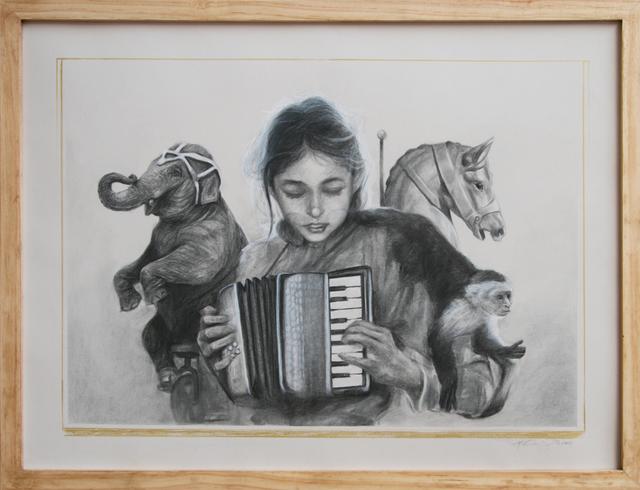 , 'Caroline Accordion Drawing,' , StolenSpace Gallery