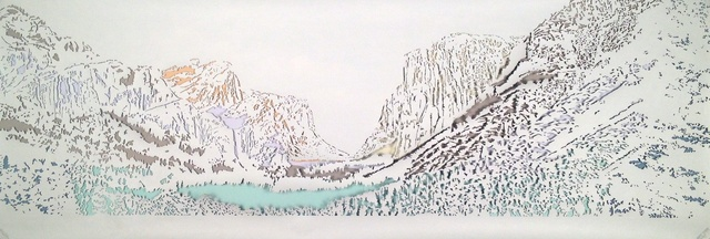 , 'Poster #1 (Yosemite),' 2014, Tracey Morgan Gallery