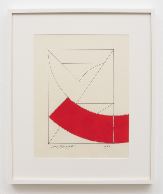 , 'Space in Two Dimensions,' 1977, Kayne Griffin Corcoran