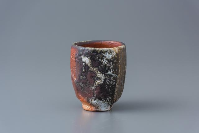 , 'Cup, yohen shino glaze,' 2018, Pucker Gallery