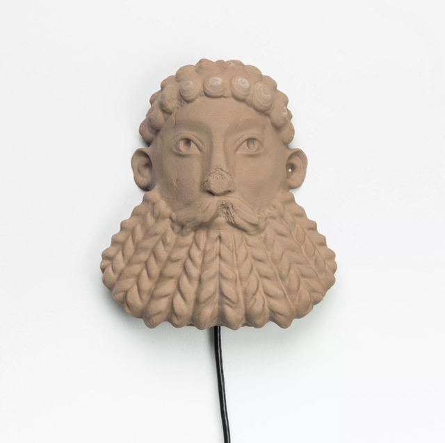 , 'South Ivan Human Heads: Bearded River God,' 2017, The Current Museum