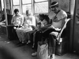 , 'Subway Scene,' 1986, Fountain House Gallery