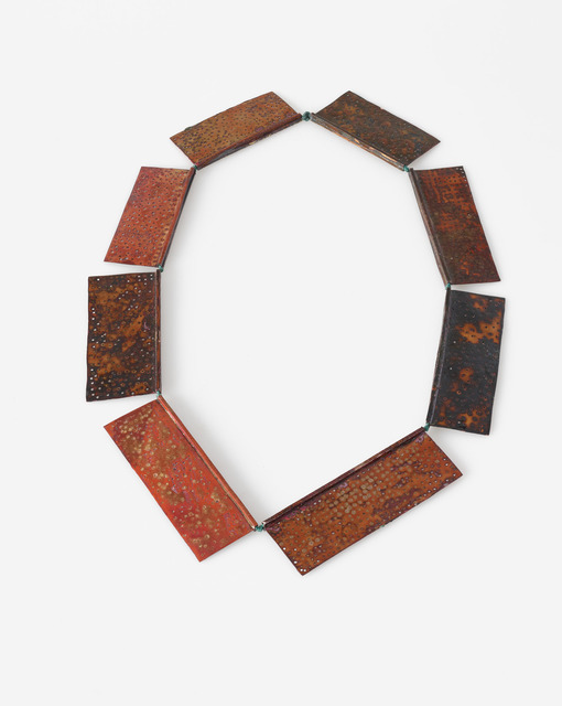 , 'Copper Shields,' 2018, Yun Gee Park Gallery
