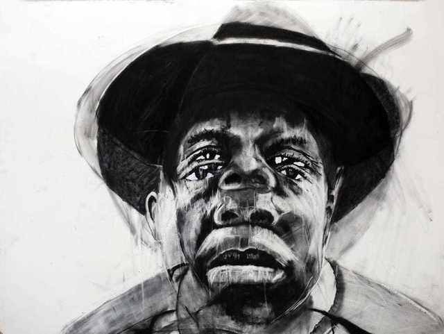 ZWELETHU MACHEPHA, 'Bheki Dube', 2019, Richard Beavers Gallery