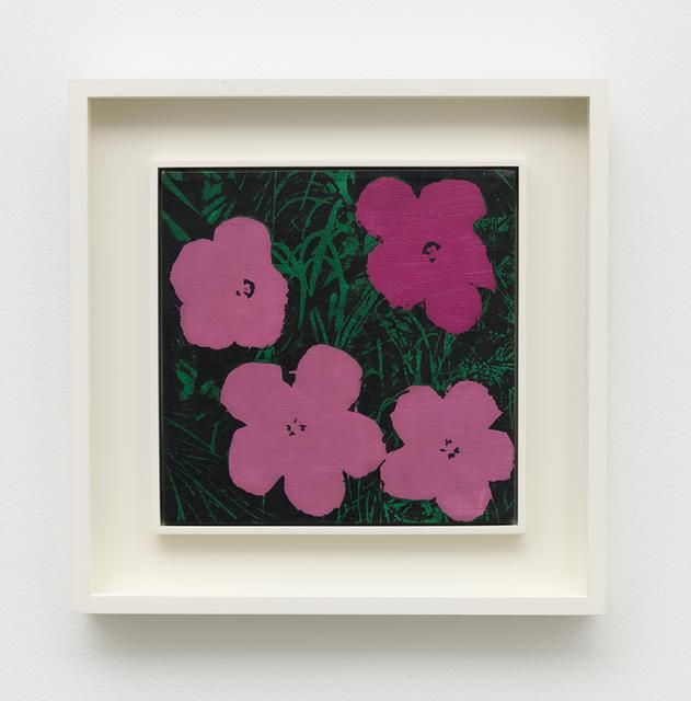 Sturtevant, 'Warhol Flowers', 1970, Honor Fraser