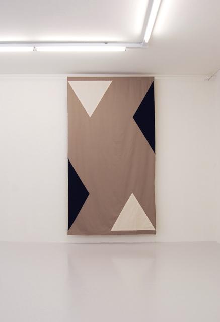 , 'Un puente es un hombre cruzando un puente - Curtain #4,' 2012, von Bartha