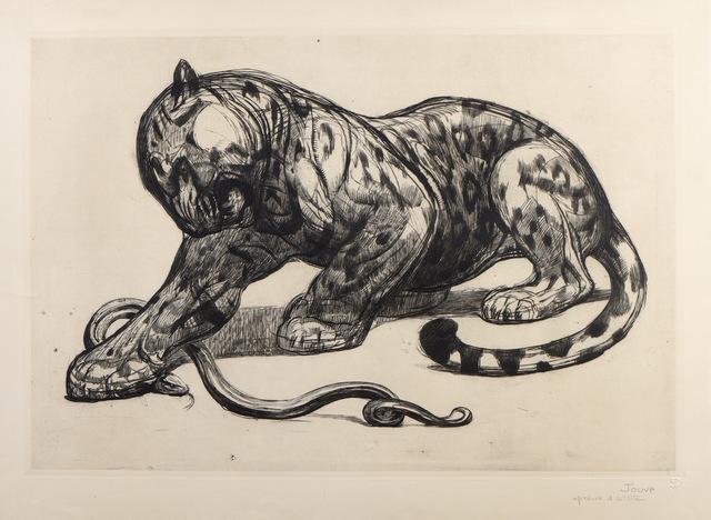 , 'Jaguar and Snake,' 1926, Galerie Marcilhac