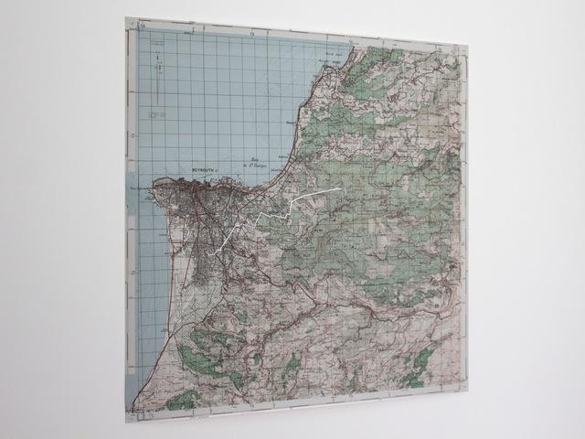 , 'Nostalgic Geography,' 2013, Akinci