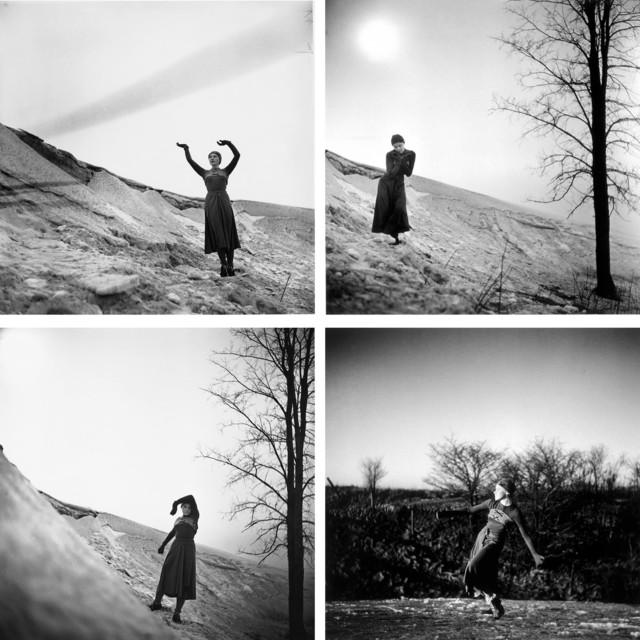 Françoise Sullivan, 'DANSE DANS LA NEIGE', 1977, Canadian Art Group