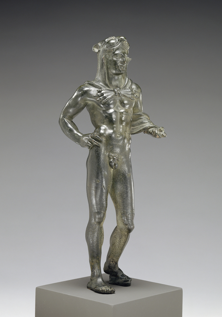 'Votive Statuette of Hercle', 320 -280 BCE, J. Paul Getty Museum