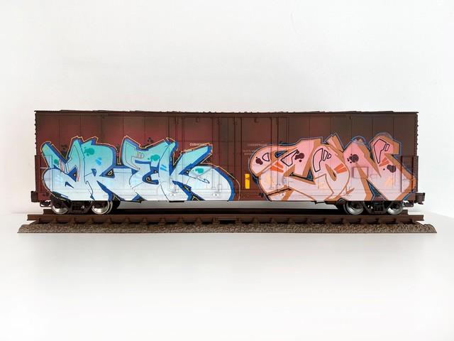 , 'BNSF #5,' 2019, Roman Fine Art