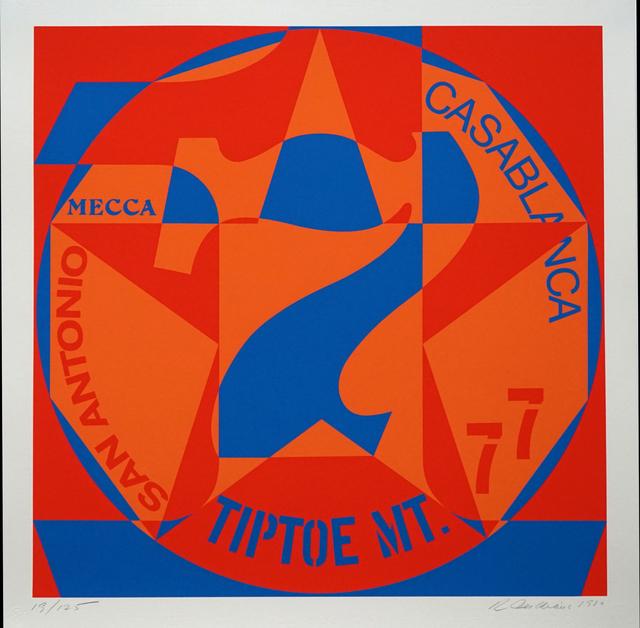 , 'DECADE: Vinalhaven Suite Autoportrait #7: TIPTOE MT,' 1980, Pascal Fine Art