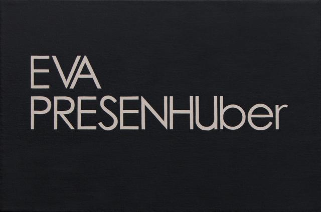 , 'Eva Presenhuber,' 2018, BWSMX