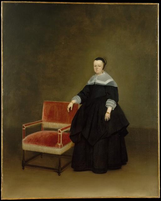 Gerard ter Borch the Younger, 'Margaretha van Haexbergen (1614–1676)', ca. 1666–1667, The Metropolitan Museum of Art