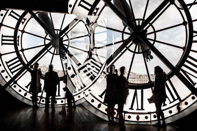 Nicolas Ruel, 'Atemporel (Paris, France)', 2015, Photography, Photographie sur acier inoxydable / Photograph on stainless steel, Galerie de Bellefeuille