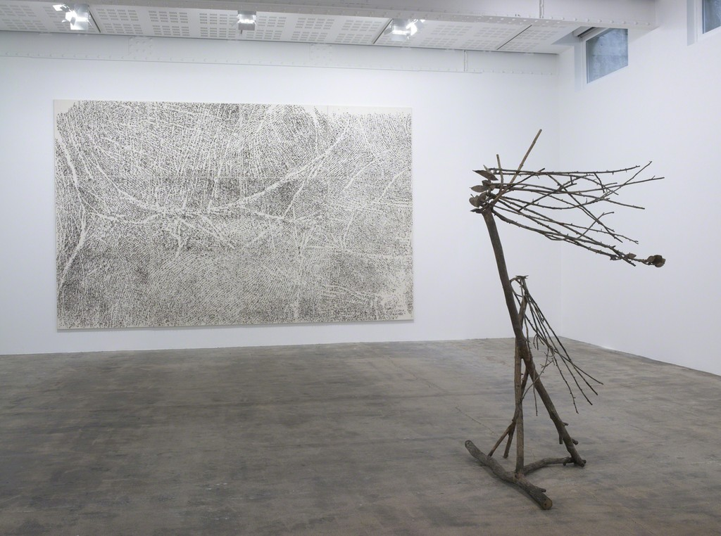 Giuseppe Penone: Le Corps d'un jardin, Installation View, Galerie Marian Goodman, Paris, May 25 - June 22, 2013