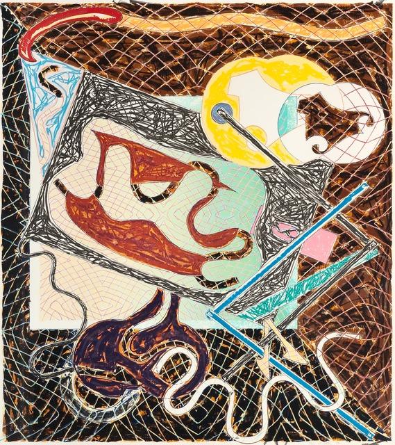 Frank Stella, 'Shards III', 1982, DANE FINE ART