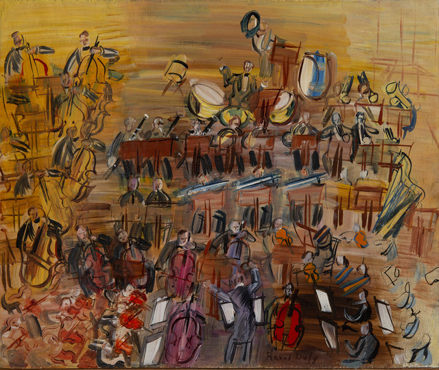Raoul Dufy, 'Le grand orchestre', Unknown, HELENE BAILLY GALLERY