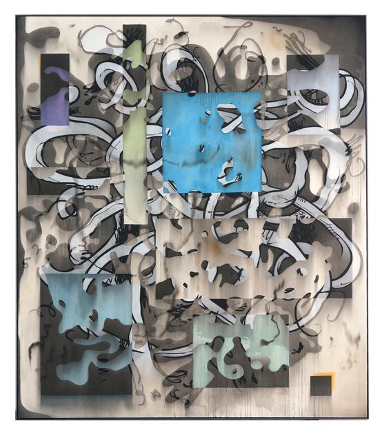, 'Blue Pretender,' 2018, NINO MIER GALLERY