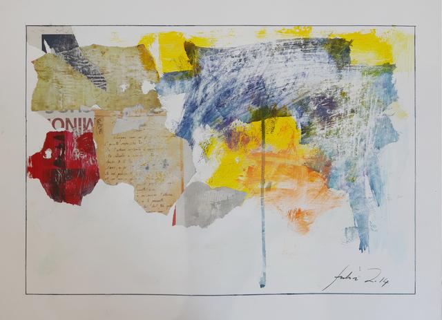 , 'work n°5,' 2014, Galleria Quadrifoglio