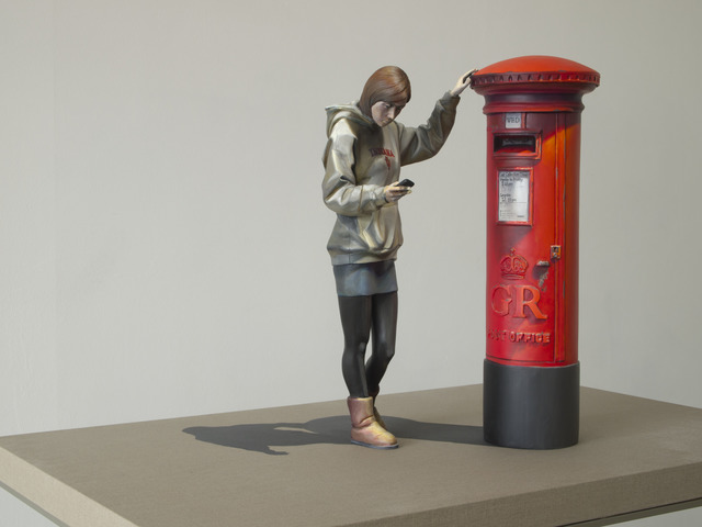 , 'Chalna - The girl mailing by the postbox C2,' 2013, Gallery LEE & BAE