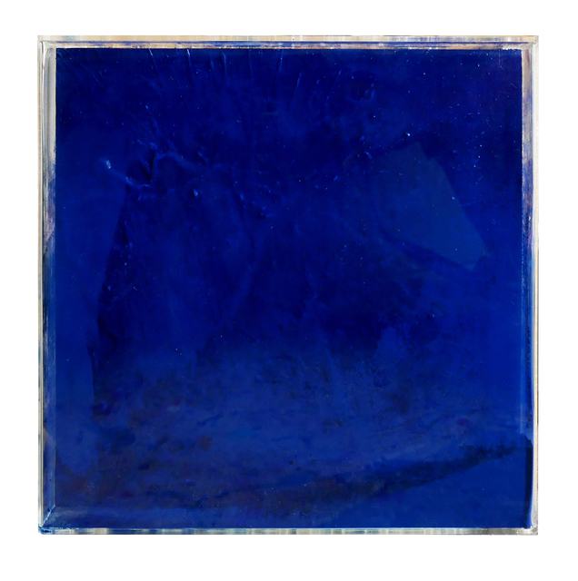 , 'Ashes to Ashes Parisian Blue,' 2017, LTB Art