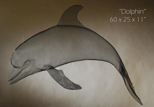 , 'Dolphin,' 2017, Eden Fine Art