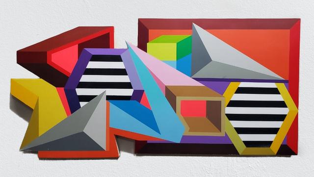 Joshua Dodson, 'Pushed Apart', 2019, Ro2 Art