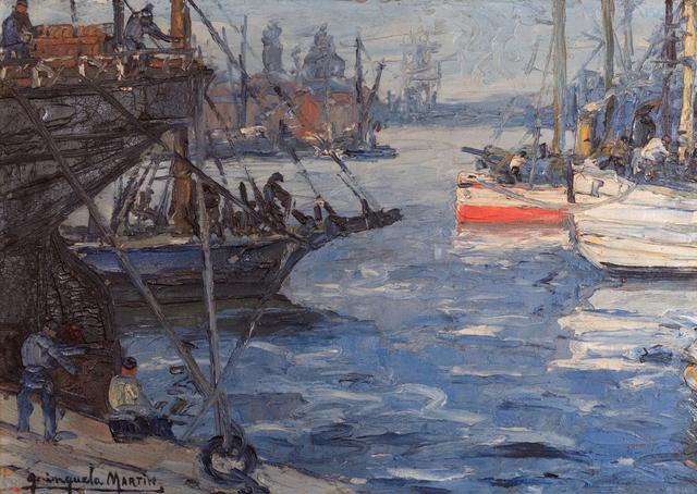 Benito Quinquela Martin, 'Puerto', ca. 1940, Queen Fine Arts