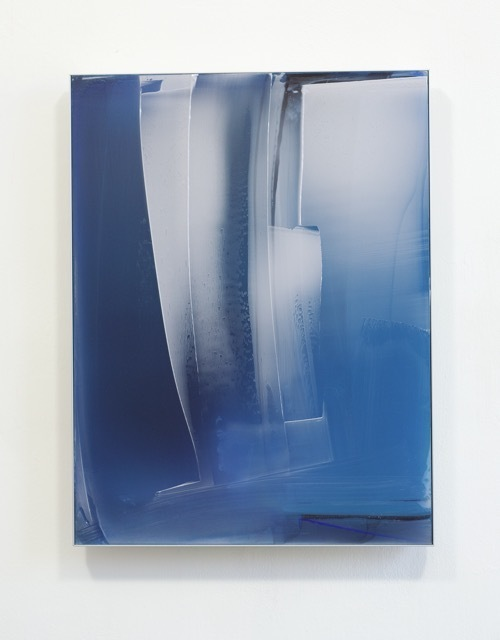 , 'Blue Composition for Miami,' 2016, Renate Bender