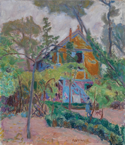 ", 'House amoung the Trees (""My Caravan"" at Vernonnet),' ca. 1918, Legion of Honor"