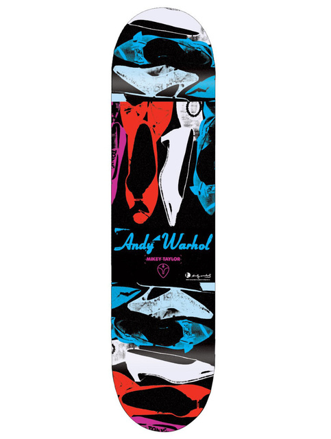 Andy Warhol, 'Andy Warhol Shoes Skateboard Deck New', ca. 2010, Lot 180
