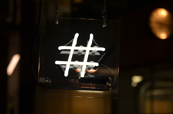 , 'Hashtag,' 2014, UAL: Now