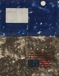 Mirrored American Flag