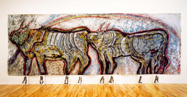 , 'Bisonti (Se la forma scompare, la sua radice e eterna) ,' 1982, Sperone Westwater