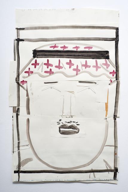 , 'Dissembling Arab,' 2013, Christian Larsen