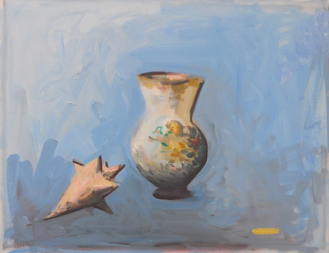 , 'Vase and Shell,' 2015, Bookstein Projects