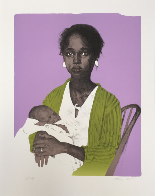 , 'Black Madonna,' 2016, Turner Carroll Gallery